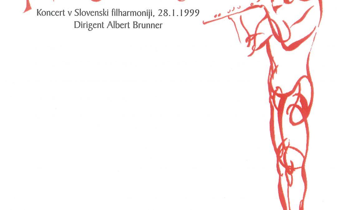 Koncert v Slovenski filharmoniji (1999)